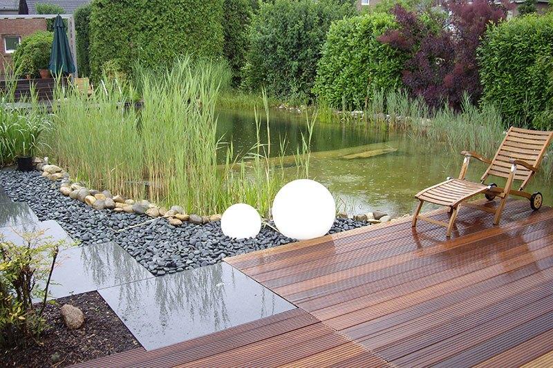 Holzterrassengestaltung  Holzterrassen & Holz im Garten - Gartenbau Zanders