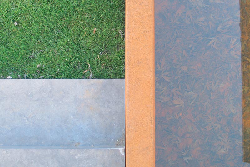 Rasen, Naturstein und Wasser - Galabau Viersen